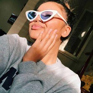 05736763c26 Accessories - Last Slim Lolita Streamlined Cat Eye Sunglasses